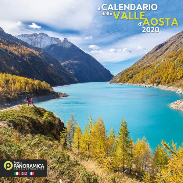 Calendario valle d'aosta  2020 copertina
