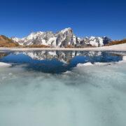 Il Monte Bianco riflesso